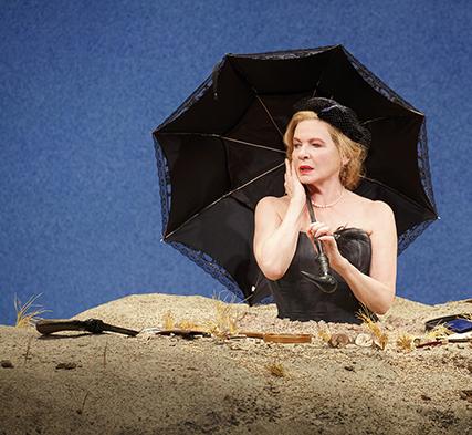 Dianne Wiest in Happy Days by Samuel Beckett. Photo by Joan Marcus.